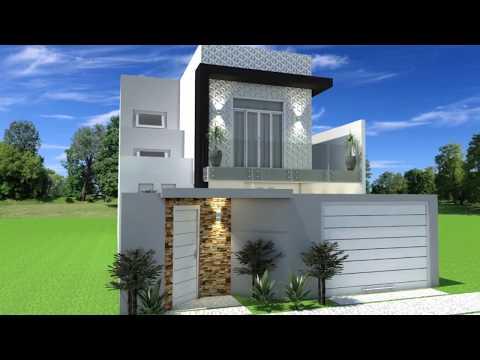 Download youtube to mp3 casa moderna 8x20 m animacion 3d for Casas modernas 8x20