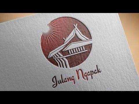 Paper PSD Logo Mockup