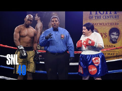 Mayweather-Pacquiao Cold Open - SNL