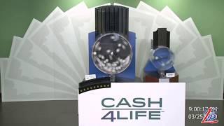 Sorteo del 25 de Marzo del 2020 (Cash4Life, Cash 4 Life, Cash Four Life, CashFourLife)