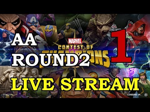 connectYoutube - Archangel Arena - Round 2 - Part 1   Marvel Contest of Champions Live Stream