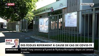 Nord : plusieurs écoles fermées après un cas de Covid-19