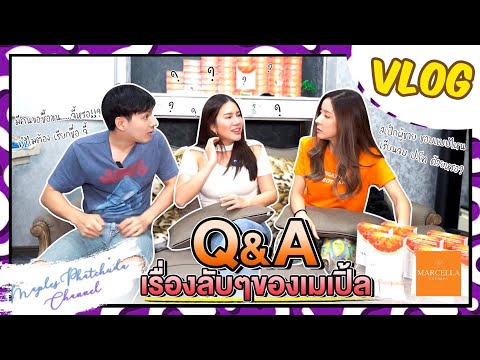Vlog-|-Q&A-เรื่องลับๆ-ของเมเปิ
