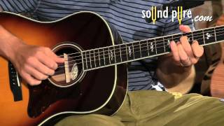 Collings CJ SB Acoustic guitar played by Keith Ganz