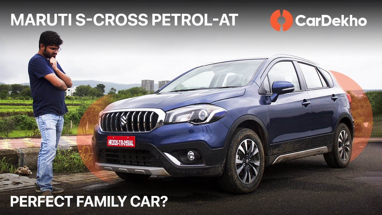 🚘 Maruti S-Cross Petrol ⛽ Automatic Review in हिंदी | Value For Money Family Car? | CarDekho.com