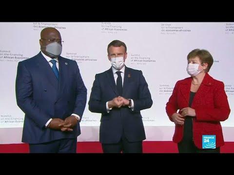 Sommet sur l'économie africaine : E.Macron appelle à un new Deal du financement de l'Afrique
