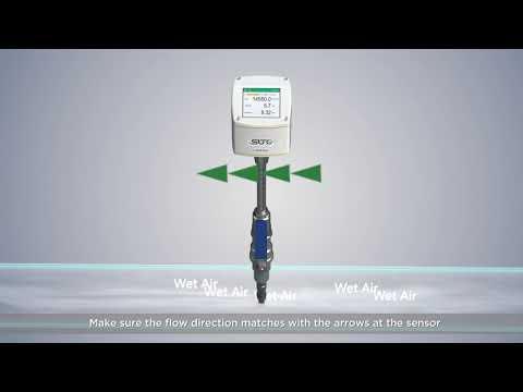 Cảm biến lưu lượng S430 Air/Gas Suto