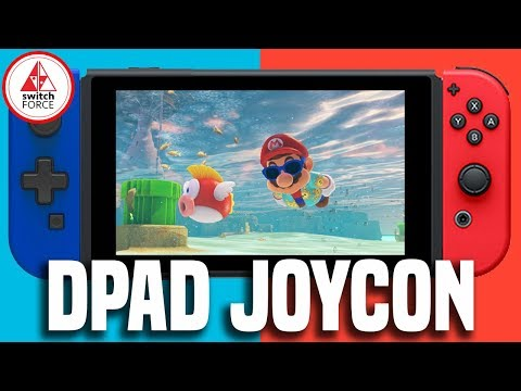 connectYoutube - Switch D Pad Joy Con Coming From Hori! Very Weird Though..