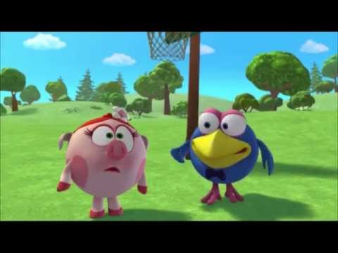 Кадр из мультфильма «Смешарики. Новые приключения. Дуэль»