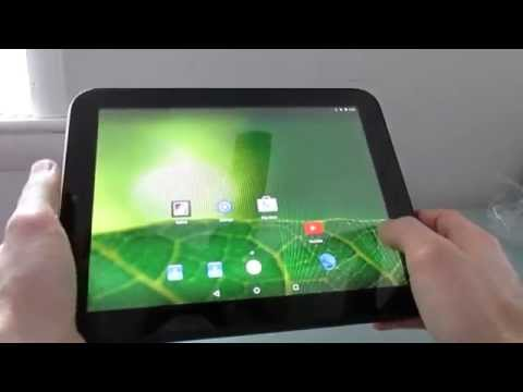 HP TouchPad tablet with Android 5.1.1