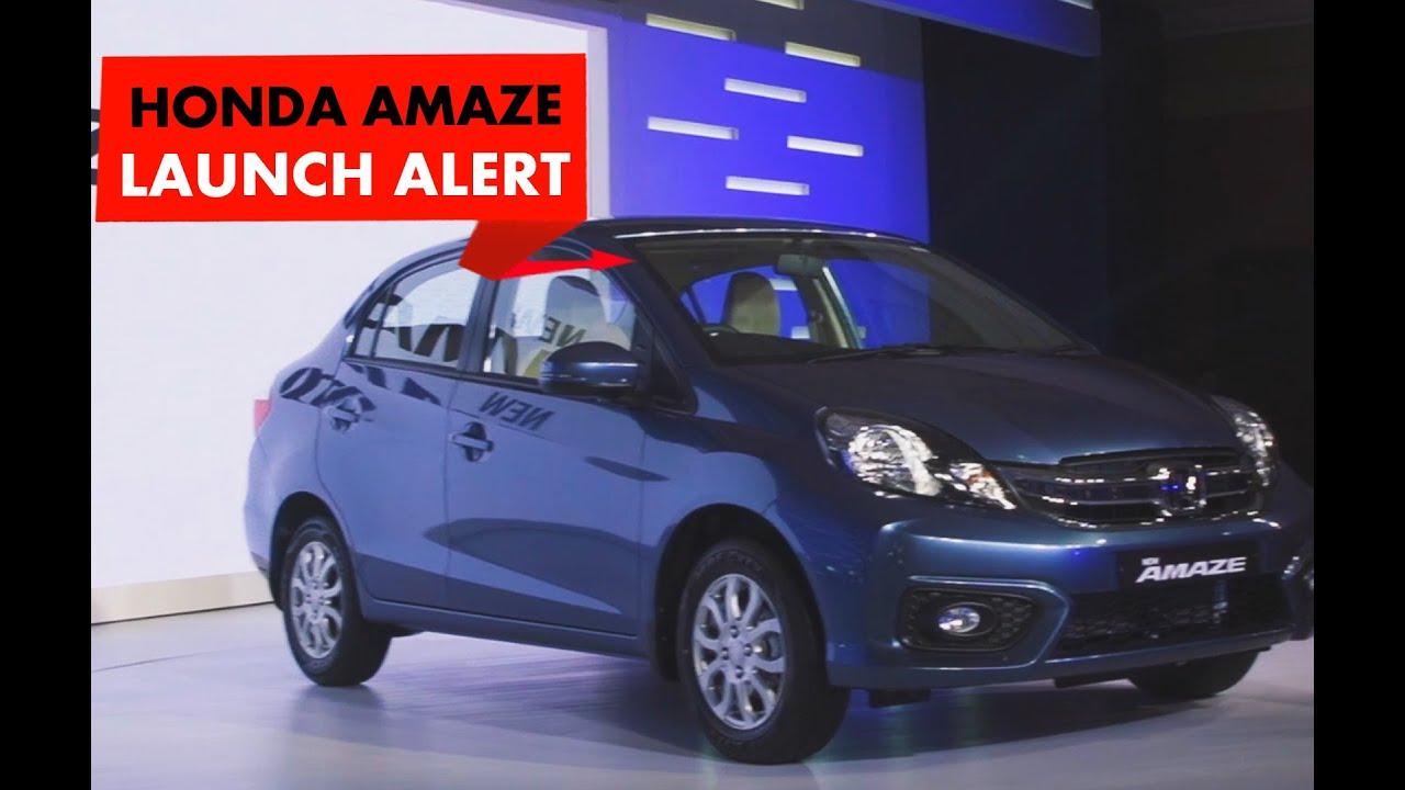 Launch Alert: 2016 Honda Amaze : PowerDrift