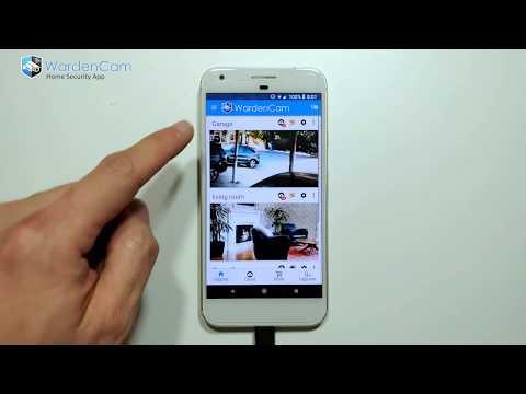 Home Security Camera WardenCam - reuse old phones 2 6 3