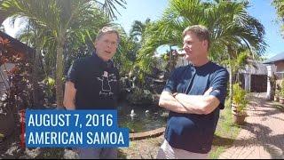 ATom Postcard - Samoa to New Zealand