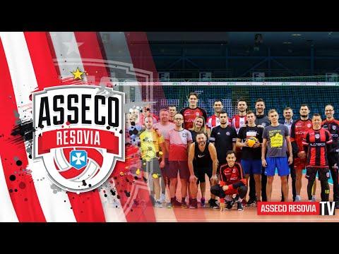 Kulisy wspólnego treningu siatkarzy i sponsorów Asseco Resovii