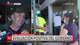 Murillo hace una evaluación positiva en el primer día de Emergencia Sanitaria