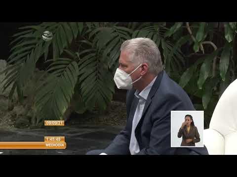 Cuba: Recibió Miguel Díaz-Canel Bermúdez a Evo Morales