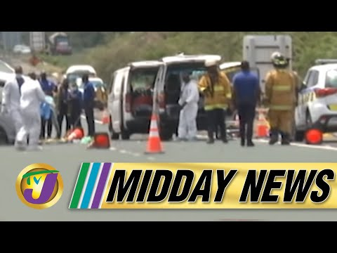 Deadly Motor Vehicle Crash | ZOSO Extended in Jamaica | TVJ Midday News - June - 16 2021