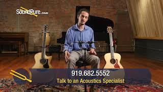 Eastman Acoustic Guitar Comparison: AC622CE vs. AC612