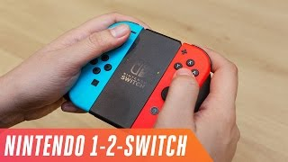 Playing Nintendo's 1-2-Switch
