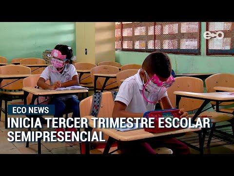 Más de 300 mil estudiantes inician tercer trimestre de clases semipresenciales en Panamá | #EcoNews