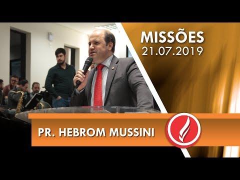 Pr. Hebrom Mussini   Jesus muda vidas   Mateus 9.35   21 07 2019