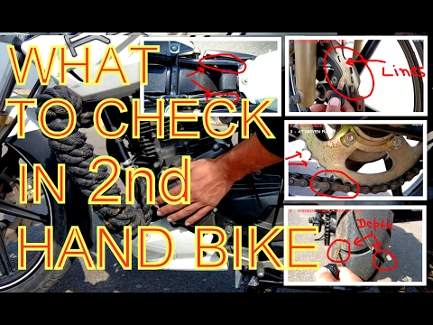 connectYoutube - What to Check in 2nd Hand Motorcycle ( 10 CHECKS )