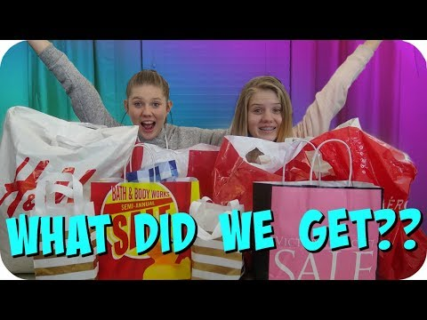 connectYoutube - HUGE SHOPPING HAUL    CHRISTMAS CASH AND GIFT CARDS    Taylor and Vanessa