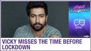 Vicky Kaushal misses the days from shooting films before the lockdown | Bollywood Gossip - ZOOMDEKHO