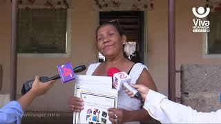 Procuraduría entrega títulos de propiedad a madres de Ciudad Sandino