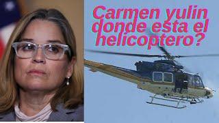 Comite de transicion de Carmen Yulin no sabe donde esta helicopero