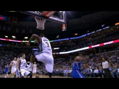 Top 10 NBA Plays: February 21st
