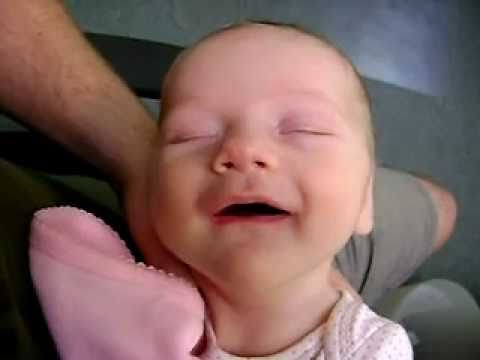 Baby Sleeping Funny Faces Dreaming