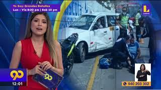 ???? Clausuran puente peatonal tras colapso de rampa en Villa María del triunfo