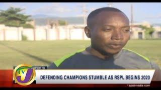 TVJ Sports News: Defending Champions Stumble as RSPL 2020 Begins - January 5 2020