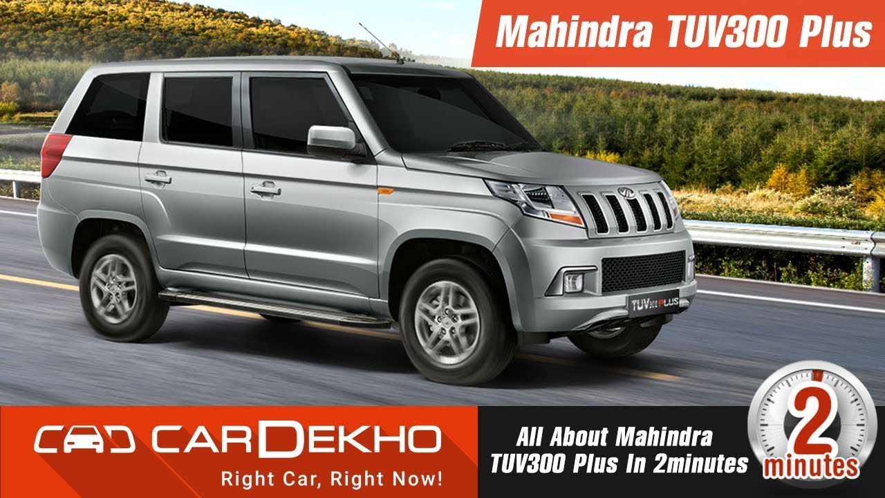 2018 Mahindra TUV300 Plus | Price, Specs, Interior, Features and More!