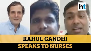 Testing reduced as deaths rise: AIIMS nurse to Rahul Gandhi | Covid-19