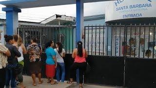 Poca afluencia de pacientes en hospital de Santa Bárbara
