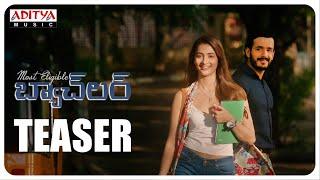 #MostEligibleBachelor Teaser | Akhil Akkineni | Pooja Hegde | Sid Sriram|Gopi Sunder - ADITYAMUSIC