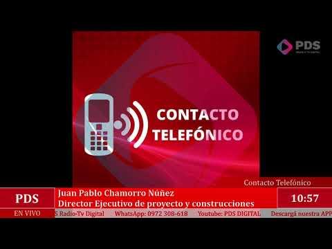 Estuvimos en comunicación con Juan Pablo Chamorro Núñez