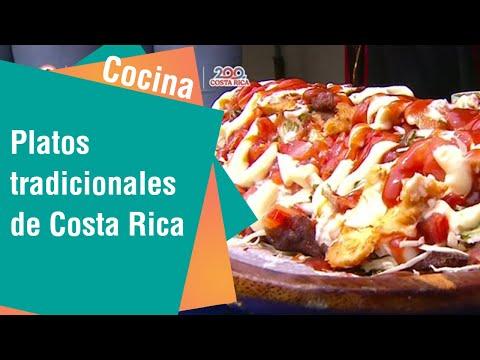 Opciones de platos ricos y tradicionales de Costa Rica   Cocina