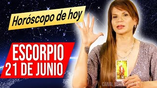 DESCUBRES QUIEN TE MIENTE ? MHONI VIDENTE ????????horóscopo DIARIO – horoscopo de hoy ESCORPIO 21 DE JUNIO