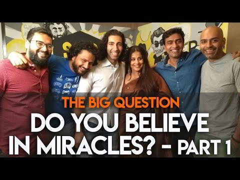 SnG: Do You Believe In Miracles? feat. Vidya Balan   The Big Question S2 Ep17 Part 1