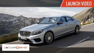 2015 Mercedes-AMG S63 Sedan Launch Video | CarDekho.com