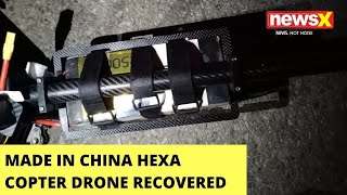 Made In China Hexa Copter Drone Recovered | Drone Found From Kanachak Area | NewsX - NEWSXLIVE