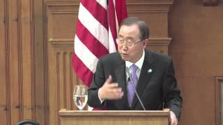 The United Nations at 0: A conversation with Secretary-General Ban Ki-moon