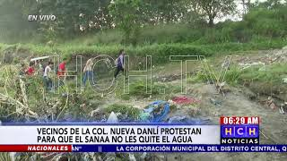 Lluvias destruyen plancha que comunica tres colonias en #SPS