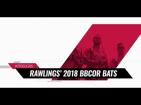 Rawlings' 2018 BBCOR Bats | Overview