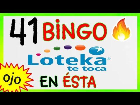 SORTEOS de HOY..! (( 41 )) BINGO loteria LOTEKA/ RESULTADOS de la LOTERÍAS/NÚMEROS GANADORES de HOY