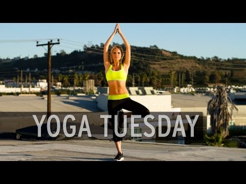 Yoga on Tuesday