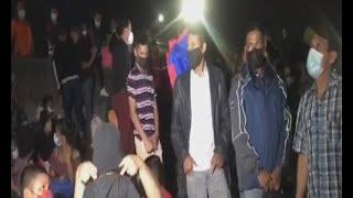 3 mil migrantes se concentraron en San Pedro Sula